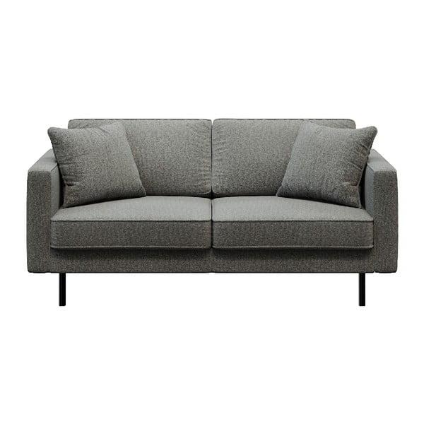 Kobo sötétszürke kétszemélyes kanapé - MESONICA