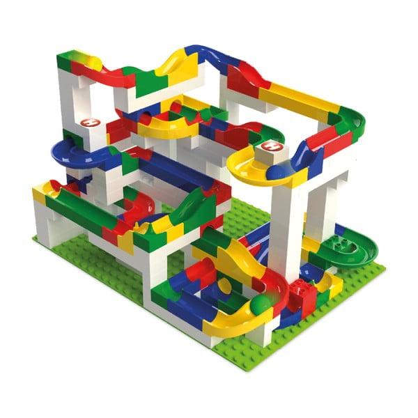 Joc de construcție cu pistă bile Hubelino Maxi