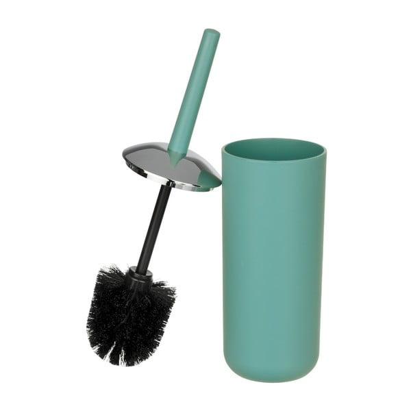 Zielona szczotka do WC Wenko Brasil