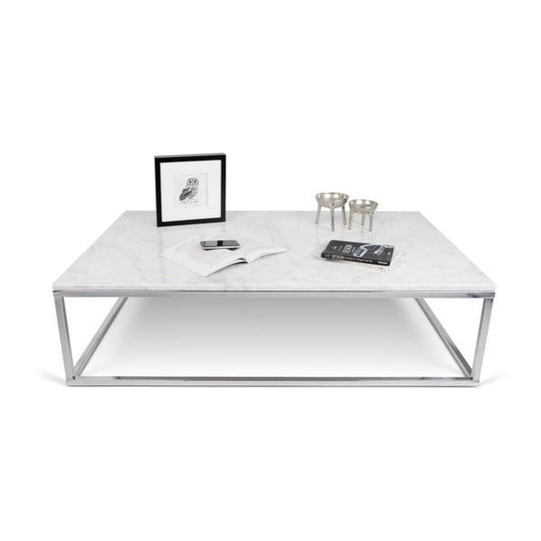 Malý bílý stolek TemaHome Prairie Marble