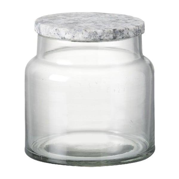 Skleněná dóza Granite Lid