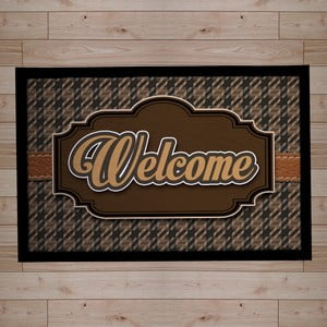 Rohožka Welcome, brown, 40x60 cm