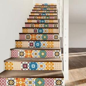 Set 2 autocolante pentru scări Ambiance Dola, 15 x 105 cm