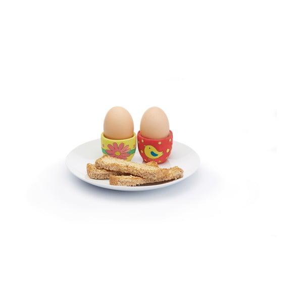 Sada velikonočních kalíšků na vejce k vymalování Hoppity