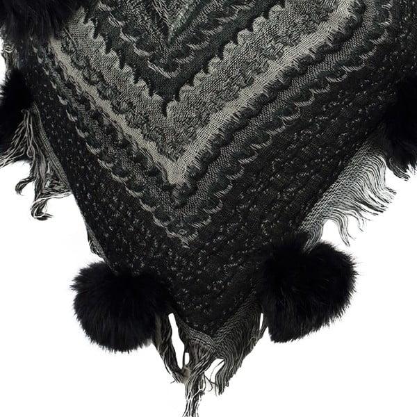 Vlněný šátek Shirin Sehan - Adel Night