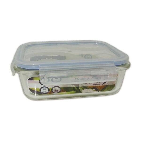 Odolný skleněný box na potraviny Utilinox, 600 ml