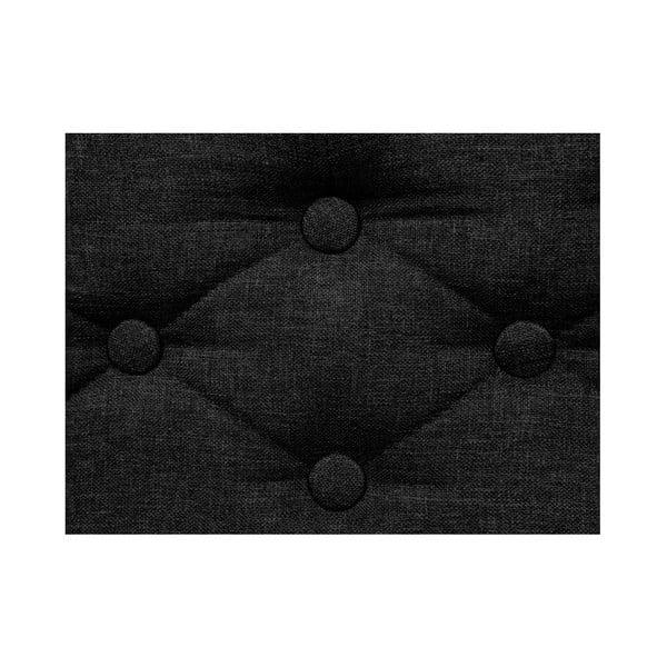 Černá pohovka pro psy Marendog Modern Lux