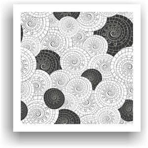 Obraz k vymalování Color It no. 11, 50x50 cm