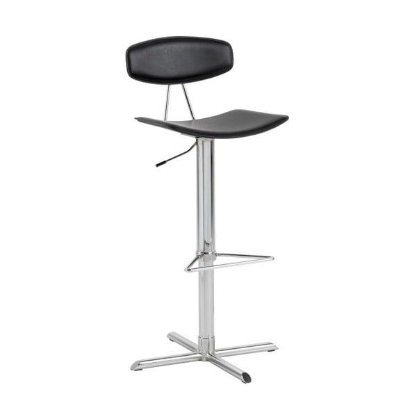 Čierna barová stolička Actona Blaise