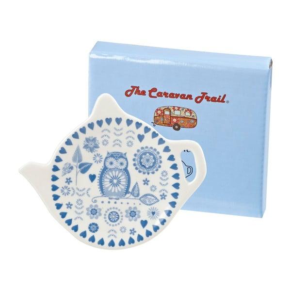 Porcelánový talířek na pytlík čaje Churchill Penzance