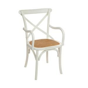 Bílá dřevěná židle Santiago Pons Manolo