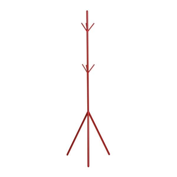 Kovový stojan, červený