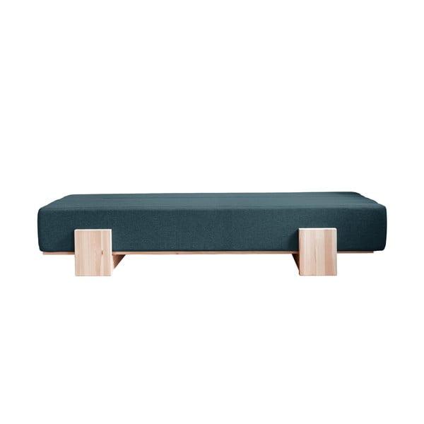 UMU Daybed Natural/Deep Blue kinyitható kanapéágy - Karup Design