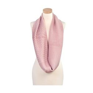 Šála Romantic Pink
