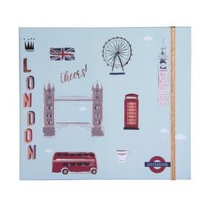 Kapesní týdenní plánovač Tri-Coastal Design London Cheers