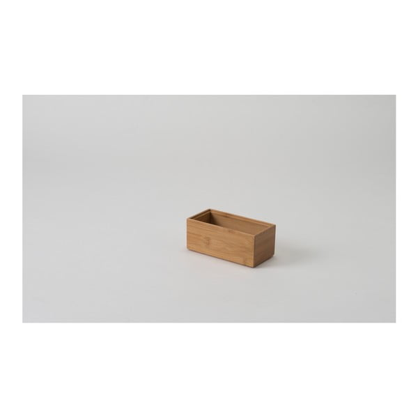 Organizator din bambus Compactor 15 x 7,5 x 6,35 cm