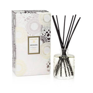 Difuzor de parfum Voluspa Limited Edition, aromă de crin alb, orhidee și mușchi proaspăt, 4-6 luni