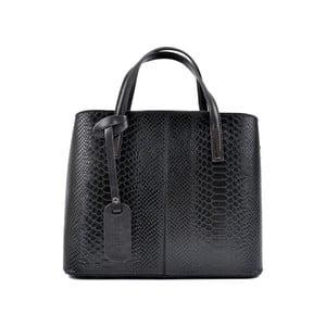 Černá kožená kabelka Roberta M Muriella