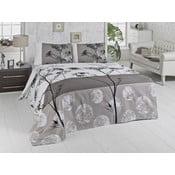 Lehký přehoz přes postel Belezza Grey, 200x230cm