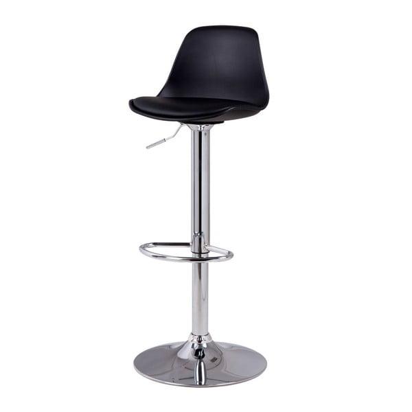 Tmavosivá barová stolička sømcasa Nelly, výška 104 cm