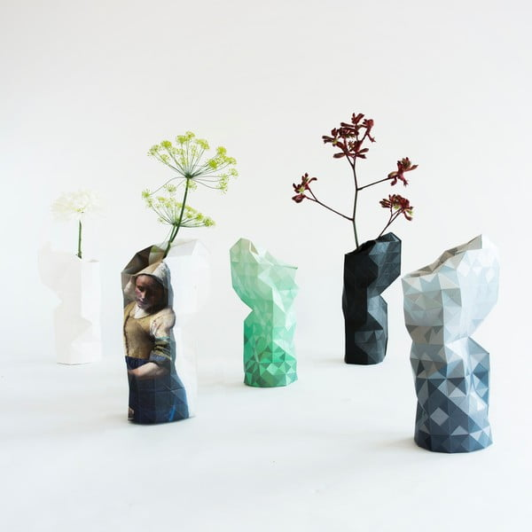 Papírová váza Canal Houses