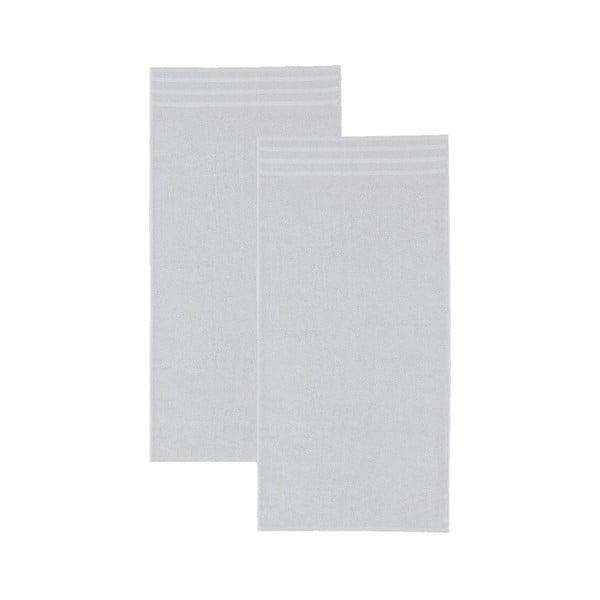 Set šedých osušek, 30x50 cm, 2 ks