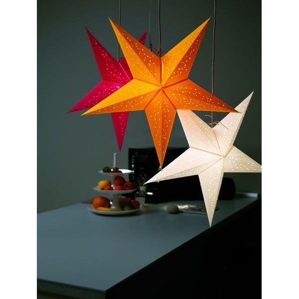 Dekorativní vánoční hvězda Jaipur Red/Orange