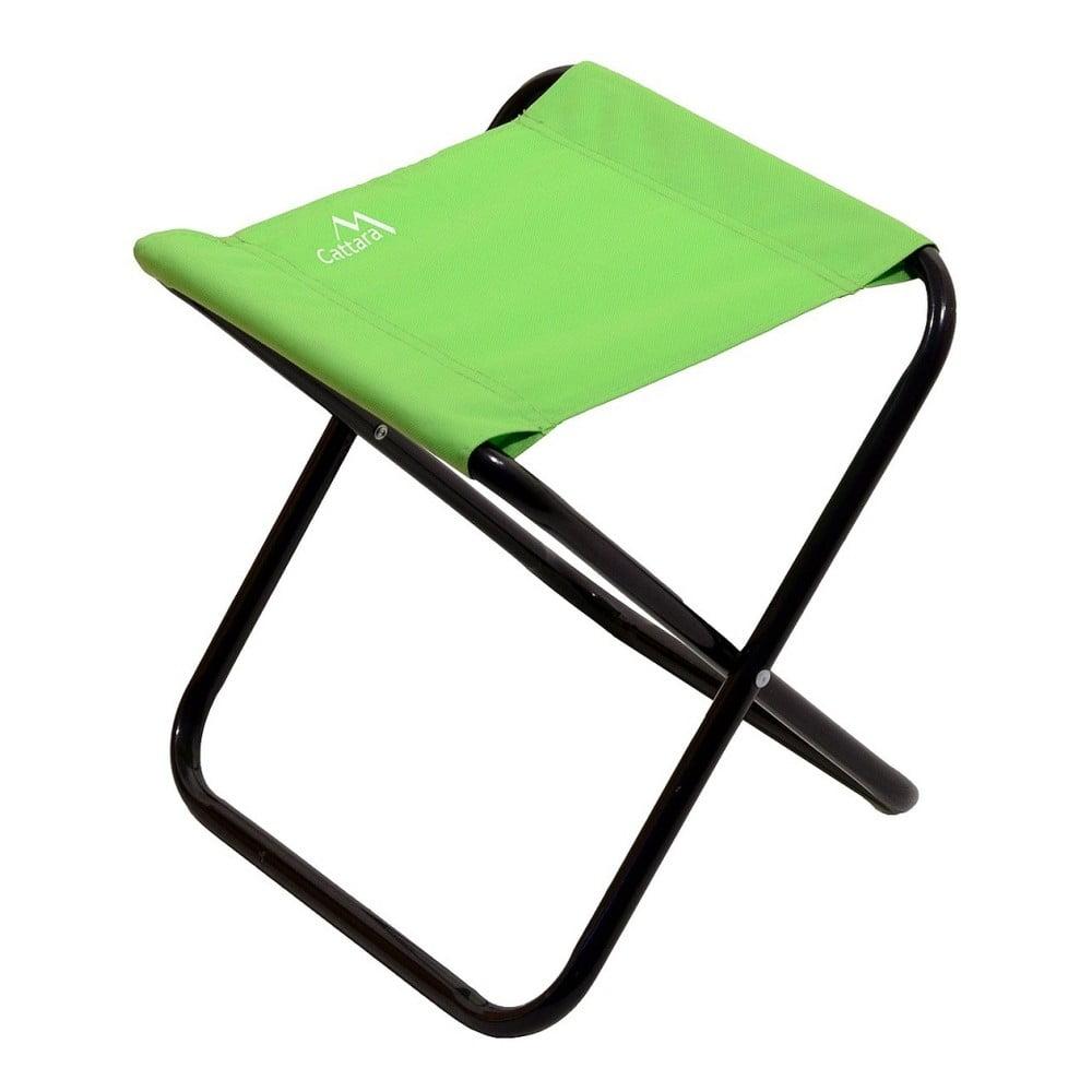 Zelená skládací kempingová židle Cattara Milano