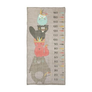 Nástěnný dětský metr Nattiot Totem,80x170cm