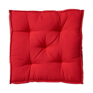 Červený podsedák Butlers Solid, 40x40cm