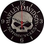 Nástěnné hodiny Harley Davidson, 30 cm