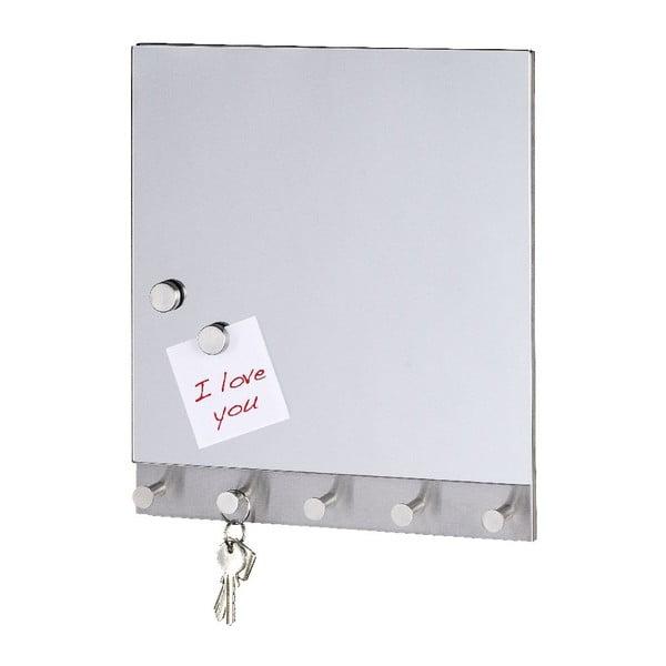Mirror mágneses fogas üzenőtáblával, 30 x 34 cm - Wenko