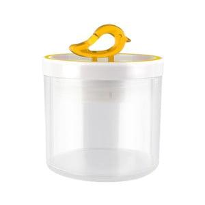Žlutá dóza Vialli Design Livio, 0,4 l