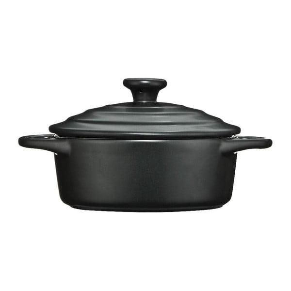 Oală din ceramică Premier Housewares, 600 ml, negru