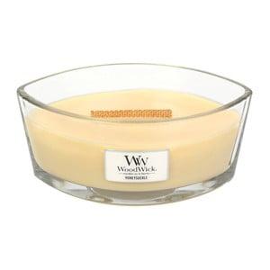 Lumânare parfumată  WoodWick Caprifoi, 453 g, ardere 50 ore