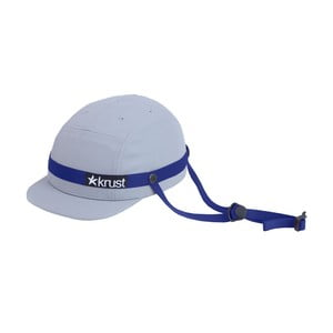 Cyklistická helma Krust Grey/Blue, vel. S