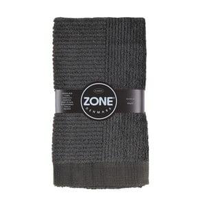 Tmavě šedý ručník Zone Classic 100x50 cm