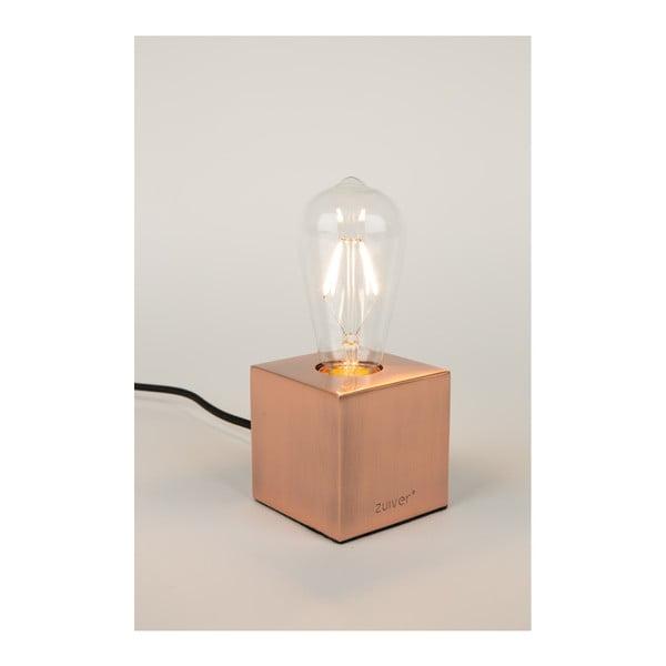 Stolní lampa v měděné barvě Zuiver Bolch