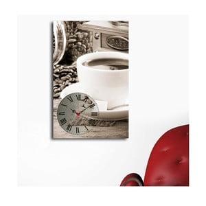 Obrazové hodiny Šálek kávy