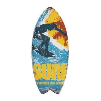 Set 4 decorațiuni metalice de perete Geese Surfboard