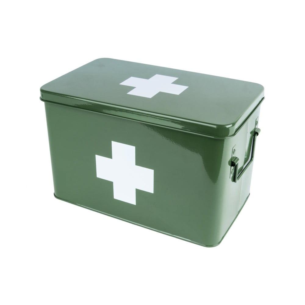 Zelený box na léky PT LIVING Medicine