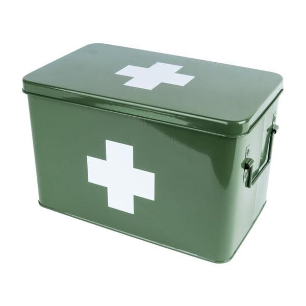 Cutie pentru medicamente PT LIVING Medicine, verde
