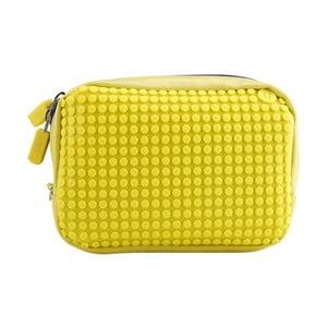 Pixelová příruční taštička, yellow/yellow
