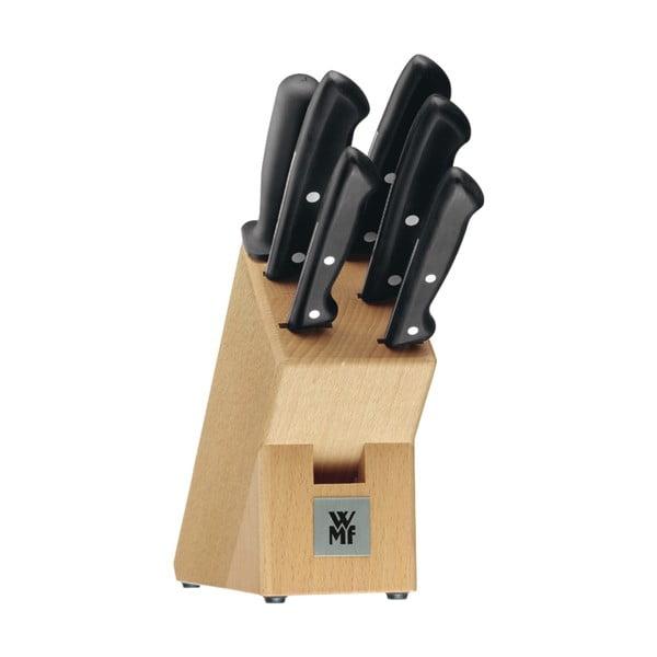 Set 6 cuțite din oțel inoxidabil cu suport WMF Cromargan® Classic