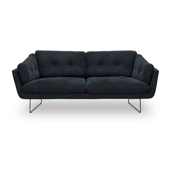 Canapea cu 3 locuri Windsor & Co Sofas Gravity, albastru închis