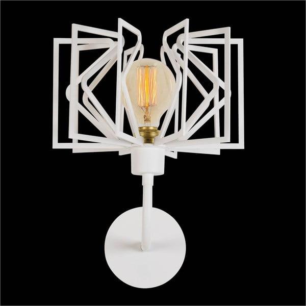 Bílá nástěnná lampa Radius Drop