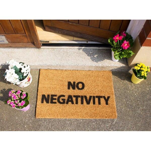 Rohožka Artsy Doormats No Negativity,40x60cm