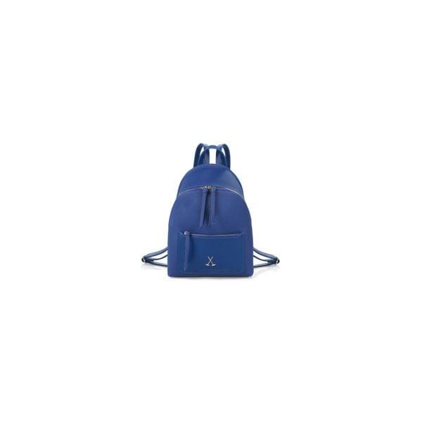 Modrý batoh z eko kože Beverly Hills Polo Club Fran