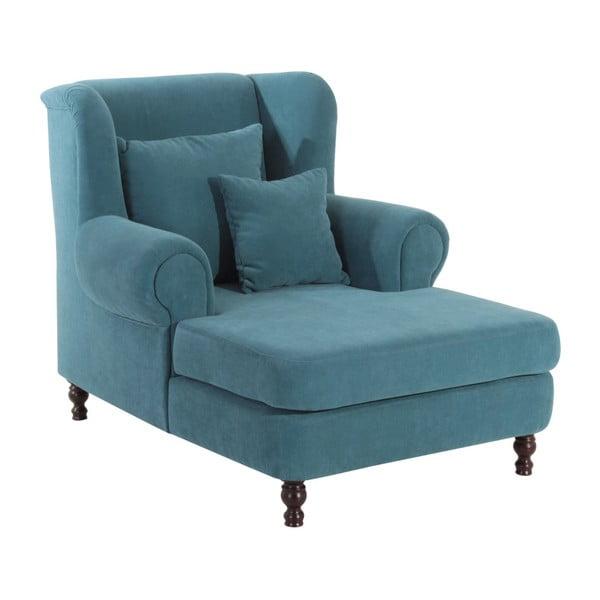 Mareille petróleum kék füles fotel - Max Winzer