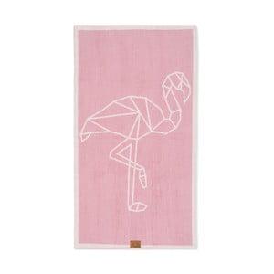 Ručník Beach Flamingo, 160x90 cm